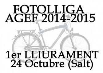 1er Lliurament FotoLliga – Tema «Bicicletes»