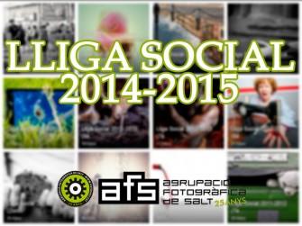 Gala lliurament Premis Lliga Social 2014-2015