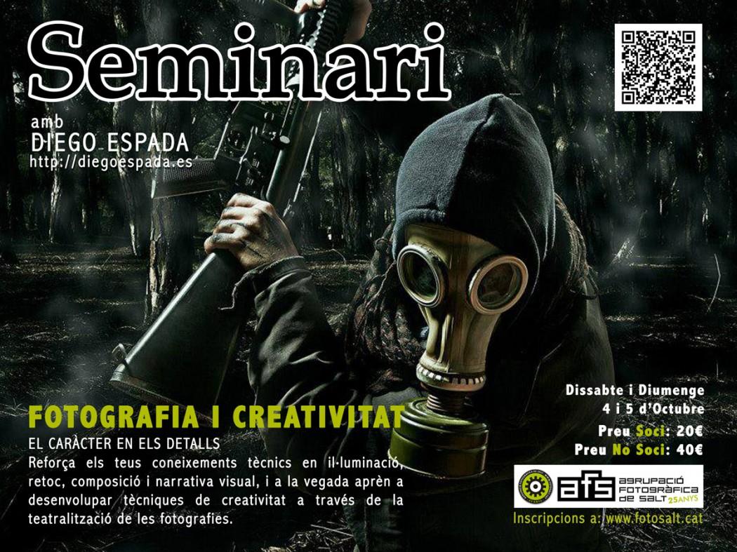 Cartell_Seminari_FotografiaiCreativitat_DiegoEspada2014
