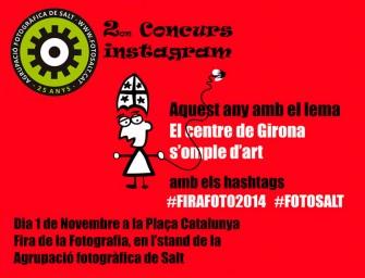 """Concurs d'Instagram """"El Centre de Girona s'omple d'art"""""""