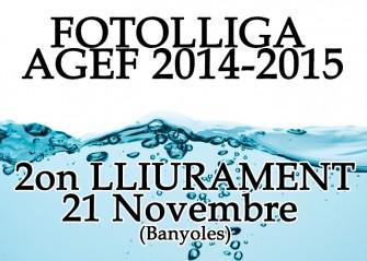 "2on Lliurament FotoLliga – Tema ""Aigua"""