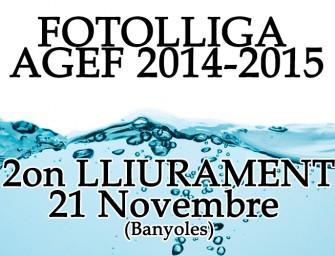 2on Lliurament FotoLliga – Tema «Aigua»