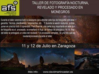Taller de Fotografia Nocturna als Monegros
