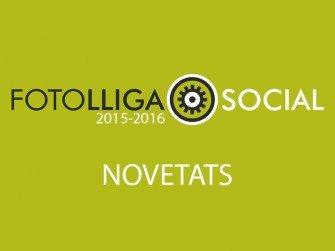 Novetats Lliga Social 2015-2016