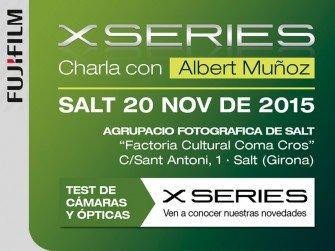 Test de Cameres i Objectius amb Xerrada de l'Albert Muñoz