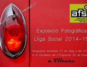 Exposició Col·lectiva Lliga Social 2014-15