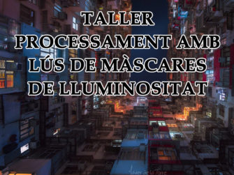 Taller de Processament amb l'ús de Màscares de Lluminositat de 16 bits
