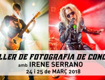 Taller de fotografia de concert amb practiques a La Mirona