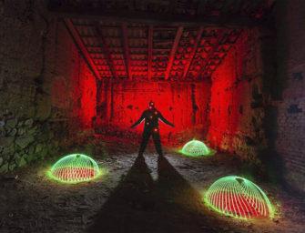 Sortida Fotogràfica de Lightpainting a Brunyola ( Tarda- Nit ) 18 D'AGOST