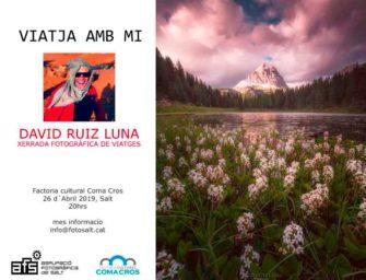 Xerrada fotogràfica de viatges amb David Ruiz Luna