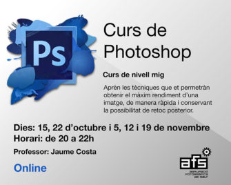 Curs online de Photoshop nivell mig per Jaume Costa