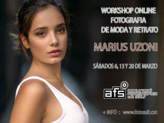 Workshop online de fotografía de moda y retrato Con Marius Uzoni