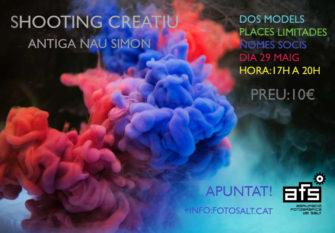 SHOOTING CREATIU AMB MODELS I FUMS DE COLORS