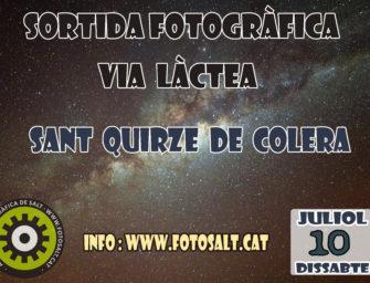 SORTIDA ASTRO-FOTOGRAFIA