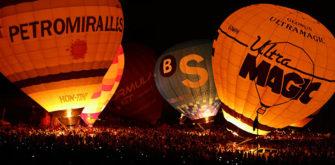 Sortida Fotògrafica a l'European Balloon Festival d'Igualada (tarda-nit)