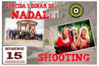 Tradicional shooting de Nadal