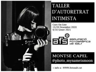 Taller d'Autoretrat Intimista per Montse Capel