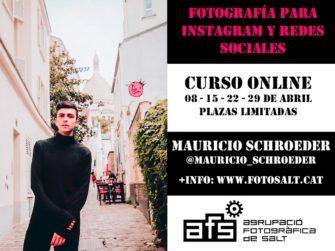 Workshop online de fotografía para Instagram y redes sociales